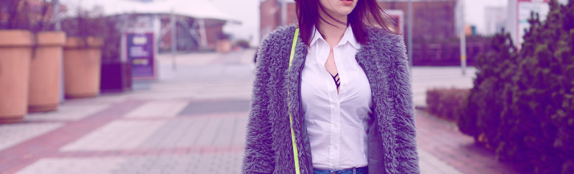 Outfit: Grey Fur and Renee Shoes.