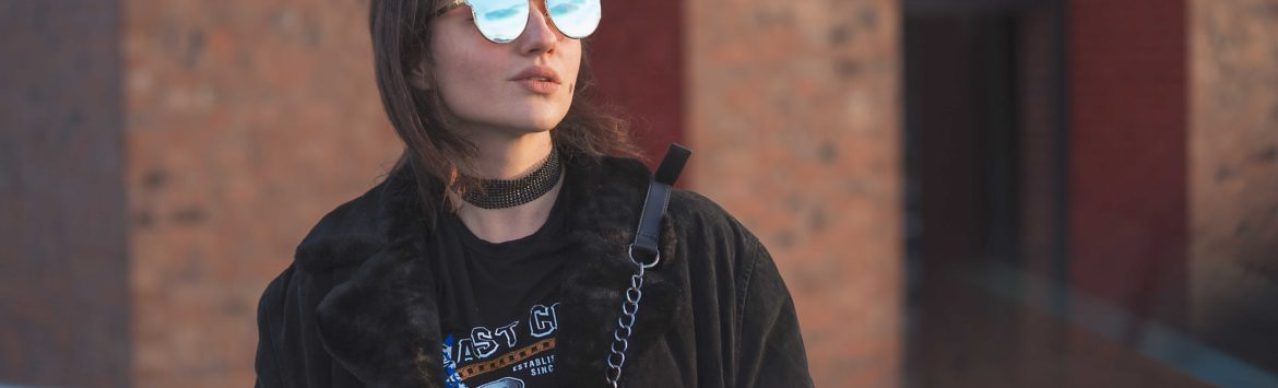 Outfit: second hand Biga Style and Zaful sunglasses