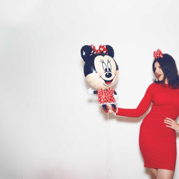 Outfit: Lady in Red by Minnie Mouse