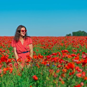 Outfit: Poppy land in Poland.
