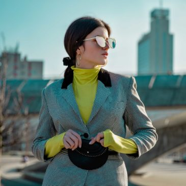 Outfit: Neon limonkowy   Trend wiosna 2019